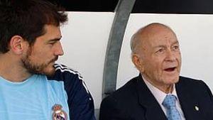 Iker Casillas und Alfredo di Stefano