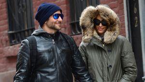 Irina Shayk und Bradley Cooper im Winterlook