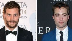Jamie Dornan und Robert Pattinson