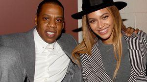 Jay-Z und Beyoncé sehen gut gelaunt aus