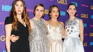 Jemima Kirke, Lena Dunham, Allison Williams und Zosia Mamet auf Event