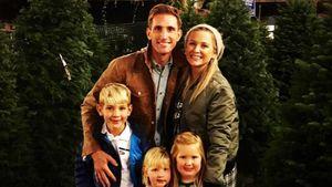 Jessica Capshaw mit ihrer Familie