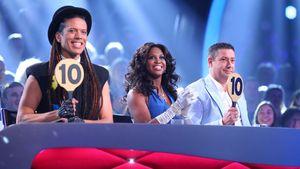 Jorge Gonzalez, Motsi Mabuse und Joachim Llambi vergeben zehn Punkte bei Let's Dance