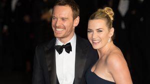 Kate Winslet & Michael Fassbender lachen
