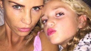 Katie Price mit ihrer Tochter