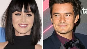 Katy Perry und Orlando Bloom verliebte Collage