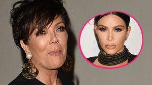Kris Jenner und Kim Kardashian Collage