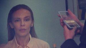 Kylie Minogue ohne Make-up