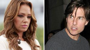 Leah Remini und Tom Cruise Collage