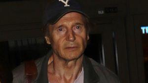 Liam Neeson sieht ganz furchtbar fertig und alt aus