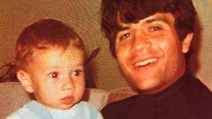 Lucas mit Vater Costa Cordalis