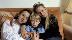Macaulay Culkin mit seiner Familie