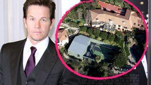Mark Wahlberg mit seinem Anwesen in Beverly Hills Collage