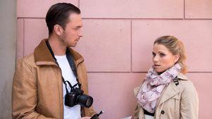 Mark Zacker (Thomas Wasik) und Leonie (Maria Kempken) in der Schillerallee