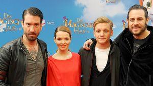 """Matthias Schweighöfer, Karoline Herfurth und The BossHoss auf der Premiere zu """"Das magische Haus"""""""