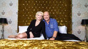Melanie Müller und Mike lümmeln im Bett