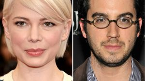 Michelle Williams und Jonathan Safran Foer in einer Collage
