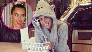 Miley beschenkt Britney