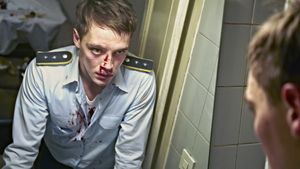 Moritz Stamm (Jonas Nay) blutet