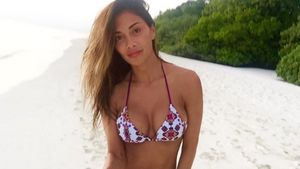 Nicole Scherzinger im Bikini