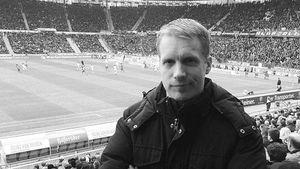 Oliver Pocher im Stadion von Hannover 96