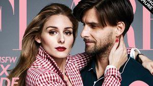 Olivia Palermo und Johannes Huebl auf dem Flare-Cover