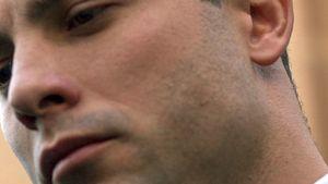 Oscar Pistorius guckt traurig