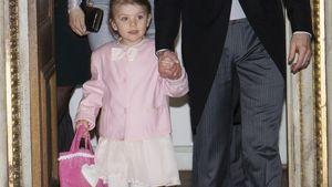 Prinzessin Estelle an der Hand von Daniel
