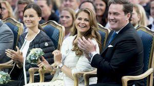 Prinzessin Madleine strahlt ihren Chris O'Neill an
