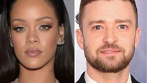 Rihanna und Justin Timberlake in einer Collage