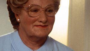 "Robin Williams in ""Mrs. Doubtfire"""