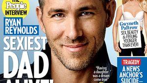 "Ryan Reynolds auf dem ""People""-Cover"
