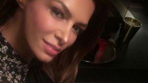 Sabia Boulahrouz im süßen Blumenkleid