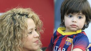 Shakira hat ihren Milan im Arm
