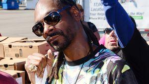 Snoop Dogg mit einem Truthahn