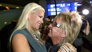 Sophia Wollersheim und Bert Wollersheim am Flughafen