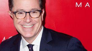 Stephen Colbert grinst