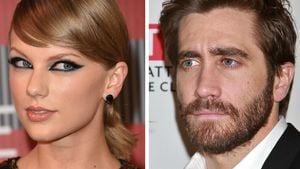 Taylor Swift und Jake Gyllenhaal Collage