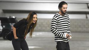 Tom Kaulitz mit seiner Freundin Ria Sommerfeld