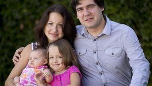 Vadym Kholodenko und seine Familie