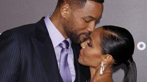 Will Smith küsst Jada fast
