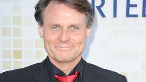 Wolfgang Bahro mit roter Krawatte