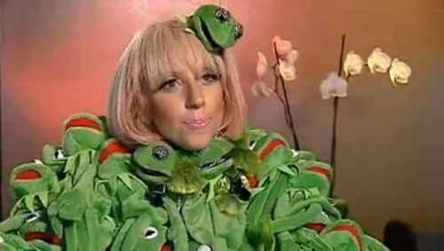 Miss Piggy war geschockt über den Frosch-Schal von Lady GaGa