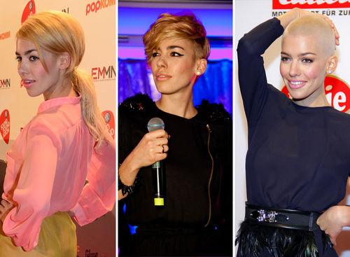 Alina Süggelers Haare wurden nach und nach immer kürzer