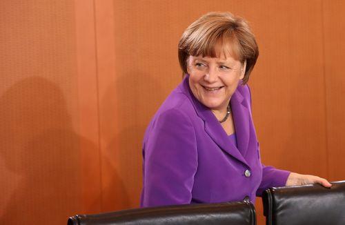 Angela Merkel hat Grund zur Freude: Sie führt das Ranking der mächtigsten Frauen wieder einmal an