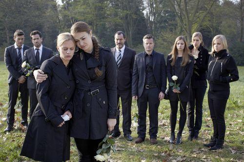 Gestern wurde Annettes Beerdigung ausgestrahlt