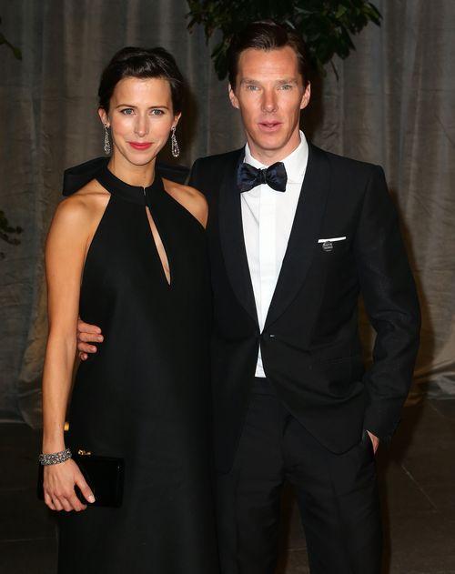 Benedict Cumberbatch und seine Frau Sophie hielten bislang den Namen ihres Sohnes geheim