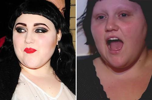 Jessica Simpson, Beth Ditto, Jennifer Lopez - Beth Ditto ist ohne ihre Make-Up-Schichten kaum wiederzuerkennen