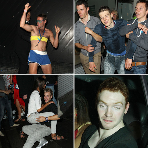 So sieht eine Olympia-Aftershow-Party aus...