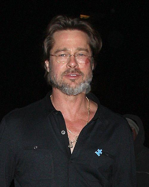 Brad Pitt zeigte sich kürzlich mit Bluterguss im Gesicht